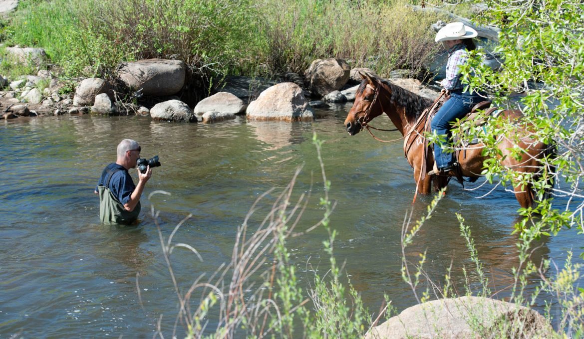 Camera, Horses, Action! – A Look Back at a Picture Perfect Photoshoot